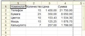 Функции сохранения таблицы значений в файл и чтения из файла