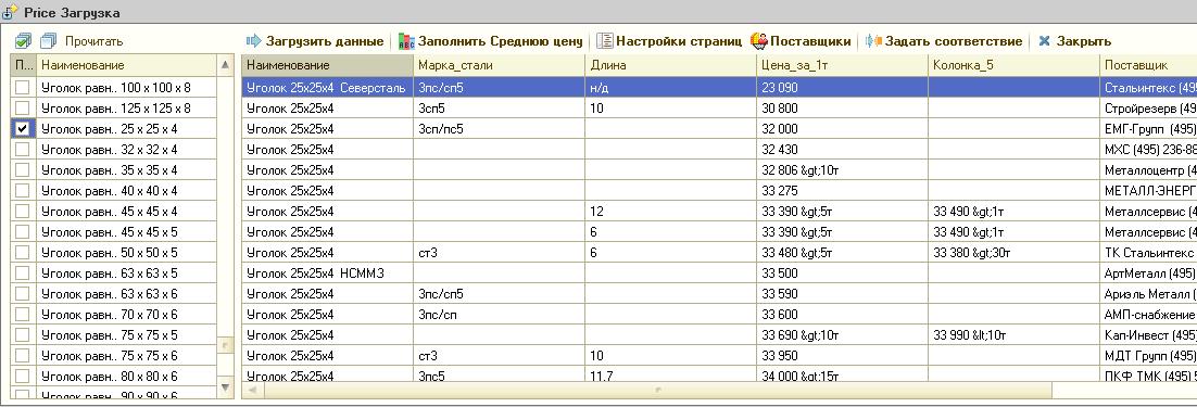 Как мы писали парсер сайта с ценами для 1С